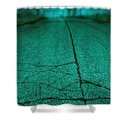Straight Shower Curtain by Margie Hurwich