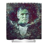 Strange Fellow 2 Shower Curtain by James W Johnson