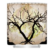 Stretching Shower Curtain by Brett Pfister