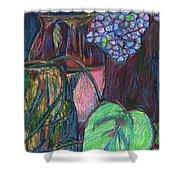 Studio Still Life Shower Curtain by Kendall Kessler