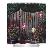 Summer Garden Shower Curtain by Anastasiya Malakhova