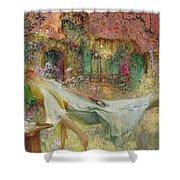 Summer In The Garden Shower Curtain by Darien Henri-Gaston