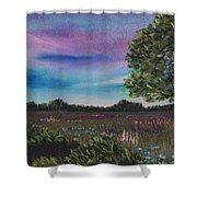 Summer Meadow Shower Curtain by Anastasiya Malakhova