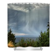 Summer Squall Shower Curtain by Randy Hall