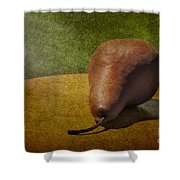 Sunlit Pear Shower Curtain by Susan Candelario
