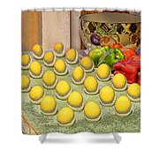 Sunny Side Up Shower Curtain by Chuck Staley