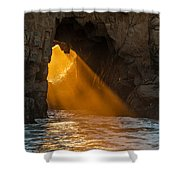 Sunset At Pfeiffer Beach Shower Curtain by George Buxbaum