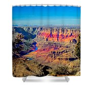 Sunset at South Rim Shower Curtain by Robert Bales