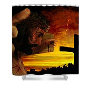 Sunset Shower Curtain by Mark Spears