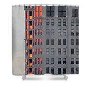Sunset Reflections In St. Pete Shower Curtain by Dorothy Menera