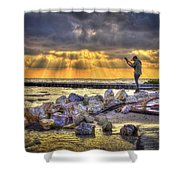 Sunset Serenade  Shower Curtain by Marvin Spates