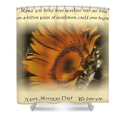Sunshine For The Ages Shower Curtain by Don Wright