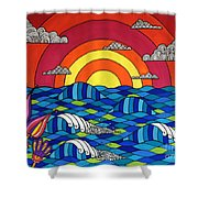 Sunshine Through My Window Shower Curtain by Susan Claire