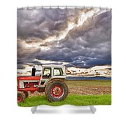 Superman Skies Shower Curtain by James BO  Insogna