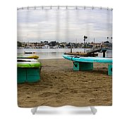 Suping Shower Curtain by Heidi Smith