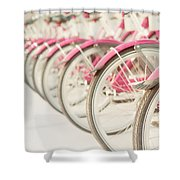 Sweet Rides Shower Curtain by Amy Tyler