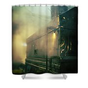 Sweet Steam Shower Curtain by Edward Fielding