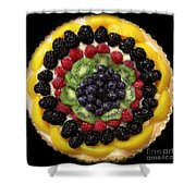 Sweet Treats - Fruit Cake - 5d20920 - Square Shower Curtain by Wingsdomain Art and Photography