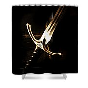 Sword Of Gandalf Shower Curtain by Christopher Gaston
