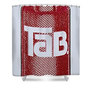 Tab Ode To Andy Warhol Shower Curtain by Tony Rubino
