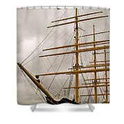Tall Shower Curtain by Rick  Monyahan