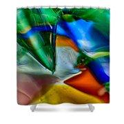 Talons Verde Shower Curtain by Omaste Witkowski