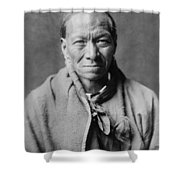 Taos Indian Circa 1905 Shower Curtain by Aged Pixel