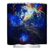 Tarantula Nebula 5 Shower Curtain by Jennifer Rondinelli Reilly - Fine Art Photography