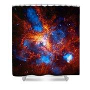 Tarantula Nebula Shower Curtain by The  Vault - Jennifer Rondinelli Reilly