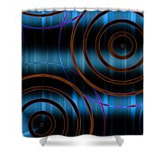 Target Acquired Shower Curtain by Hakon Soreide