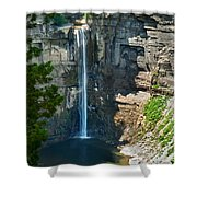 Taughannock Falls Shower Curtain by Christina Rollo