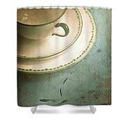 Tea Time Shower Curtain by Jan Bickerton