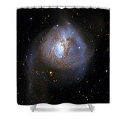 Tear Drop Galaxy Shower Curtain by The  Vault - Jennifer Rondinelli Reilly