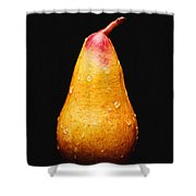 Tears Of A Sad Pear Shower Curtain by Andee Design