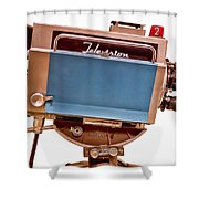 Television Studio Camera Hdr Shower Curtain by Edward Fielding
