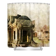 Temple Of Preah Vihear Shower Curtain by Catf