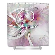 Tendrils 07 Shower Curtain by Amanda Moore