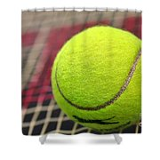 Tennis Anyone... Shower Curtain by Kaye Menner