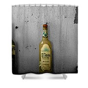 Tequila And Vino Tinto Shower Curtain by Cheryl Young