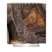 Textures 2 Shower Curtain by Fran Riley
