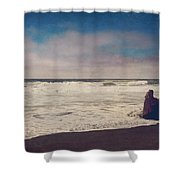 That Dirty Game Recaptures Me Shower Curtain by Laurie Search