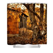 That Which Defines us Shower Curtain by Lois Bryan