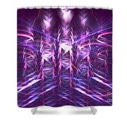 Thatch Shower Curtain by Kim Sy Ok