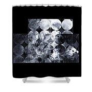 The 13th Dimension Shower Curtain by Menega Sabidussi