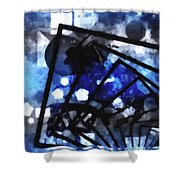 The Amazing Explosion  Shower Curtain by Toppart Sweden