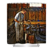 The Apprentice Hdr Shower Curtain by Steve Harrington