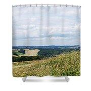 The Artist Shower Curtain by Wendy Wilton
