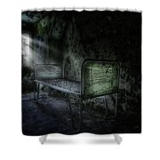 The Asylum Project - Seven Shower Curtain by Erik Brede