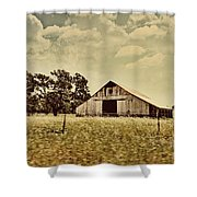 The Barn 2 Shower Curtain by Cheryl Young
