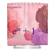 The Beauty Equation Shower Curtain by Paulette B Wright